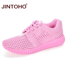 JINTOHO Breathable Mesh Women Shoes Sport Women Running Shoes Summer Women Sneakers Cheap Female Shoes Lady Sport Shoes