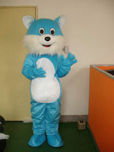 Newest Lovely Version Blue Cat Mascot Costume Cartoon Mascot Character Costume Free Shipping