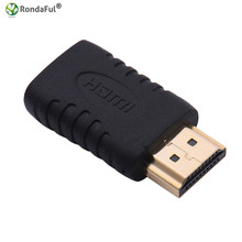 Gold Plated HDMI Male to Mini HDMI Female Connector HD TV Converter Adaptor HDTV