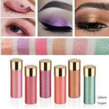 Ideal Vigor High Quality Mermaid Eyeshadow Glitters Make Up Pigment Radiant Single Metallic Shimmer Powder Eye Shadow YY051