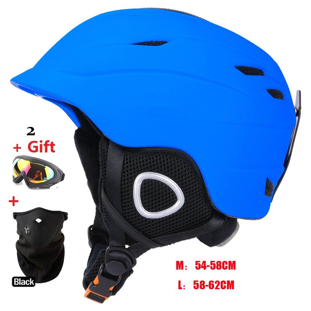 Brand  Skateboard Ski Snowboard Helmet Integrally-molded Ultralight Breathable MOON Ski Helmet CE Certification Cheap for sale<br>
