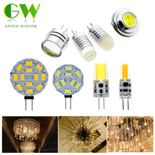 G4 LED Bulb Lamp For Chandelier DC12V 2W 3W 4W LED Lighting Lights Replace Halogen Spotlight Chandelier 4Pcs/Lot(China)