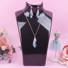 A203-1 ANFEI Black color 20*13.5cm Mannequin Necklace Jewelry Display Stand Holder