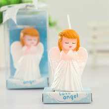 Child party supplies birthday gift romantic birthday candle smokeless candle little angel baby small candle Cake Accessory