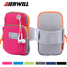 Men Women Messenger Bags Running WaterProof Nylon Arm Wrist Band Bag Sport Outdoor Phone Case Cover Gym Pouch Purse For LG Phone