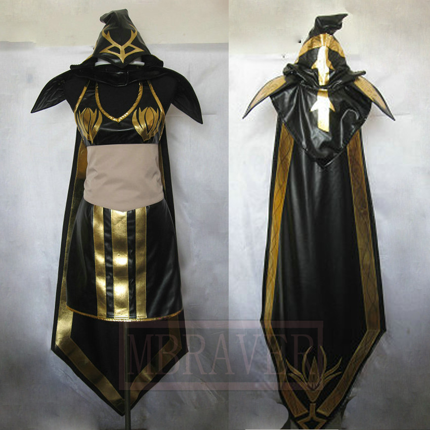 New arrival Customized LOL Ashe cosplay costume osplay Costume