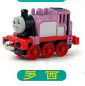 2016 explosion models Thomas and his friends pink Rossi inertia small magnetic alloy toy trains