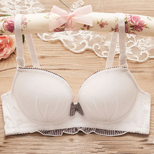 Buy Sexy Push Bras Small Breasts Wire Free Minimizer Bra Bralette Lingerie Adjusted-straps Women Underwear Brassiere BH