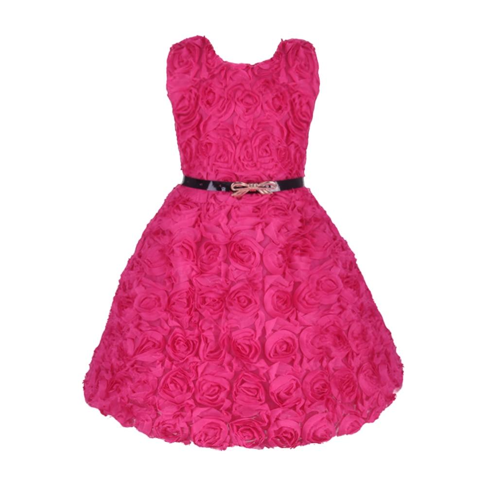2016 Vestido Infantil Girl Flower Wedding Party Dress Floral Children Wedding Dress Baby Wear for 2-7Y Hot Sale<br><br>Aliexpress