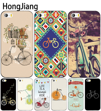 HongJiang bike bicycle cell phone Cover case for iphone 6 4 4s 5 5s SE 5c 6 6s 7 8 plus case for iphone 7 X(China)