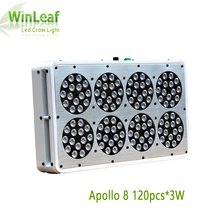 led Grow light Apollo 8 120pcs*3W Red blue Customizable For Indoor Plants greenhou Hydroponics factory System High Efficiency(China)