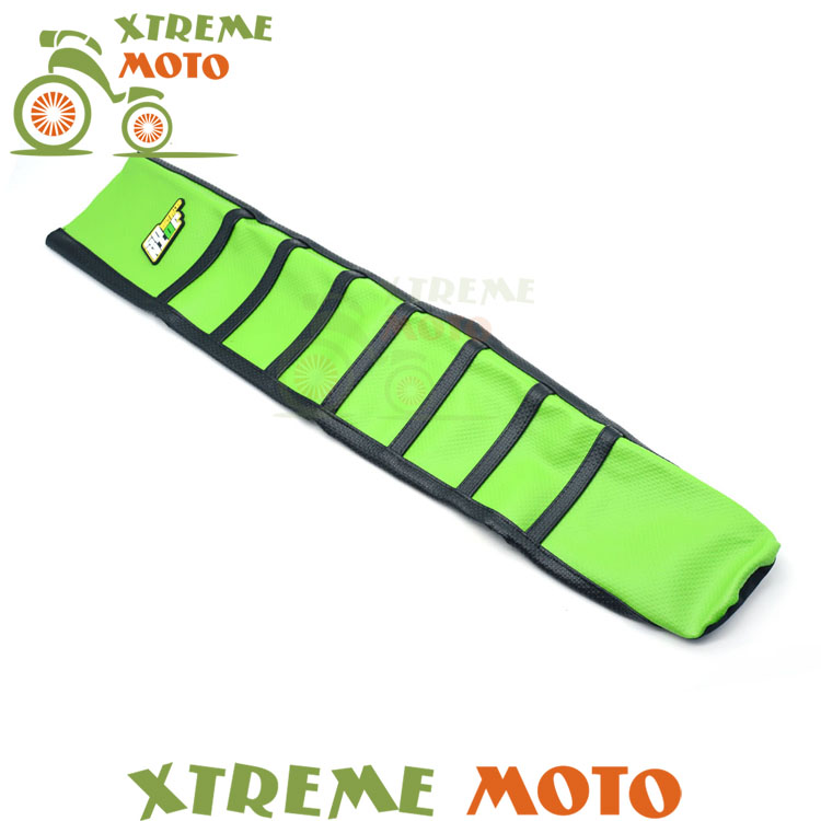 Green Gripper Soft Seat Cover For Kawasaki KXF450 KX450F 12 13 14 15 16 Motorcycle Motocross Supermoto Dirt Bike Off Road Enduro<br>