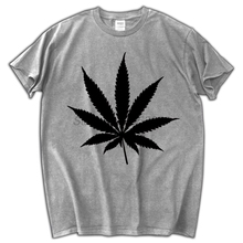 LEAF Logo MENS T SHIRT WEED HIGH SWAG HYPE HIPSTER GRAPHIC TEE TOP(China)