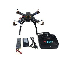 Assembled RC Helicopter with QQ Super Flight Control+T6EHP-E 6Ch Transmitter+11.1V 3300Mah 25C Battery F14893-B(China)