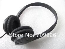 Linhuipad 3.5mm Low Cost Headsets Wholesaler/Disposable Headphones With Leatherette Ear Cushion Ear Pads Min order:3000pcs/lot
