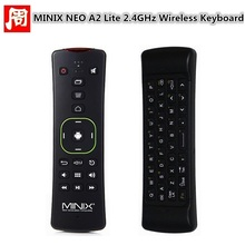 Original MINIX NEO A2 Lite Air Mouse 2.4GHz Wireless Remote Keyboard Six-axis Gyroscope for Gaming Android TV Box PC(China)