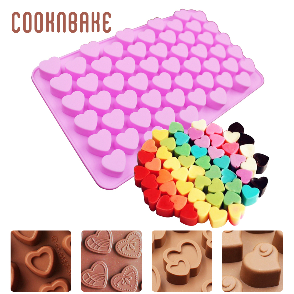 Big Heart Shape Cake Mold Silicone Mould Candy Chocolate Bakeware 22*18*5cm Gift