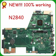 SHUOHU X551MA  For ASUS X551MA Laptop Motherboard N2840U  X551MA motherboard 90NB0480-R00100 REV2.0 100% tested