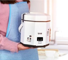220V Electric mini rice cooker 3 cups Household Appliance Small rice cooker intelligent multi function rice food steamer