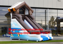manufacturers selling inflatable slides,Snow penguin slides Inflatable castle KY-670(China)