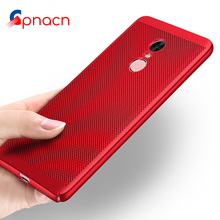 Heat dissipation phone hard Back PC Cases For Xiaomi Redmi Note 4x 4 Pro Full Cover Case Note 4 Global Version Protect shell(China)