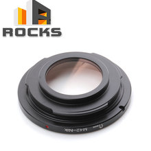 Focus Infinity Lens Adapter Suit For M42 Mount Lens to Suit for Nikon Camera(China)