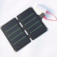 HOT 11W 5V Portable Solar Panel Charger Super Slim Light Solar Cell Charger USB Output Water Resistant 2PCS/Lot Free Shipping(China)