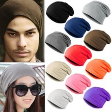 Winter Warm Unisex Knitted Crochet Slouchy Hat Cap for Women Men Beanies Hip Hop Hats