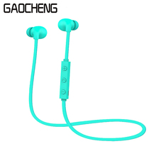 Mini Wireless Bluetooth Earphone head phones Sport Headphones Soundproof Active Noise Cancelling Earphones Microphone - WISHOP Store store