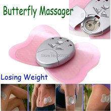 Relax Massager Electronica Slimming Butterfly Body Muscle Massager Body Massager 5pcs/lot