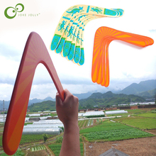 Flying-Disc Outdoor-Toys Wooden Boomerang Child Classic 40-Meters GYH V-Shape Popular