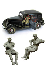[tuskmodel] 1 35 scale resin figures kits driver
