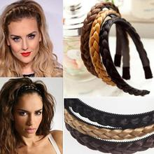 1Pcs Headband Hair Fixer For Women Wedding Hairbands Plaited Braided Hair Accessories
