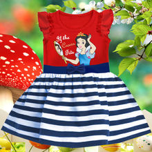 Baby Girls Kids Clothes Summer Snow White Party Princess Dress 1-6Yrs