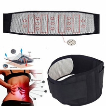 Best Tourmaline Magnetic Therapy Belt Lumbar Back Waist Support Brace Double Banded Adjustable Pad High Quality