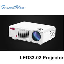 New Arrival !! 2000lumens Cheap HD LED Home Cinema Projector 3D LCD Multimedia Video game Beam Proyector with Long Life LED Lamp