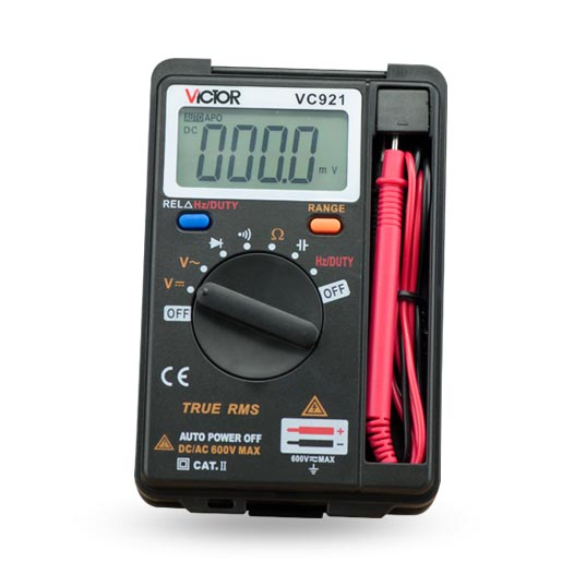 VICTOR VC921 DMM Integrated Personal Handheld Pocket Mini Digital Multimeter Mini portable Multimeter meter<br><br>Aliexpress