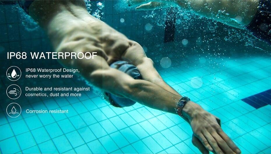 COLMI Smart band DM11 3D Dynamic UI Fitness tracker Bracelet Heart rate Monitor Wristband IP68 Waterproof 7
