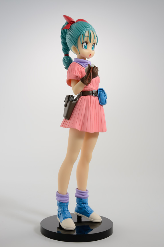 Dragon Ball Z Scultures Budokai Tenkaichi 7 Bulma Figure Anime Dragon Ball Super Action Figure 100% Original<br>