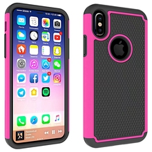 "For Apple iPhone X 5.8"" Hybrid Armor Rugged Rubber Shockproof Phone Case For iPhoneX 5.8 INCH Protective Football Cover Case(China)"