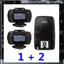 3 Transceivers Wireless 1/8000s E-TTL Flash Trigger for Canon 5D 7D Mark II III 6D 700D 1DX 650D 70D 60D As King Pro(China)