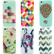 Cell phone Case For Apple iphone 5 5S 5G SE iphone5 iphone5S Ultrathin Cover Unique Dog Print Soft Silicon Slim TPU Shell Fundas
