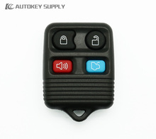 Free shipping Car-styling for Ford 4 buttons remote key fob complete 433/315Mhz for car key