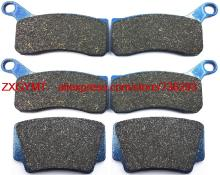 Motorcycle Semi-met Brake Pad for KTM XC505 XC 505 ATV 2008 & up(China)
