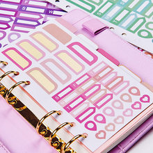 dokibook homemade stickers Binder index sticker diary PDA accessories label stickers 2pcs/lot