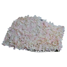Noble Carpet type Hydrangea DIY wedding Setting wall decoration Road led flower T stage decoration Photo background light pink