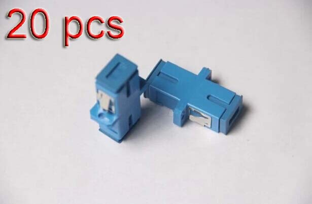20 pcs SC-SC Fiber Adapter Connector Fiber connector Fiber adapter