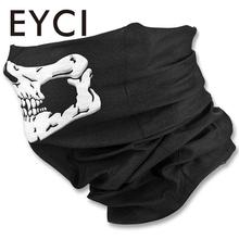 Cycling Face Mask Skeleton Ghost Skull Face Mask Biker Balaclava Costume Halloween Cosplay(China)