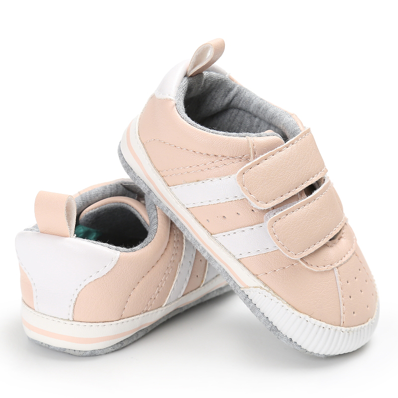 Fashion PU Leather Baby Moccasins Newborn Baby Shoes For Kids Sneakers Infant Indoor Crib Shoes Toddler Boys Girls First Walkers 25