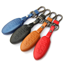 Newest Fashion Handwork leather key cover for Infiniti EX FX m G25 G37 FX35 EX25 EX35 FX37 EX37 Q60 QX50 QX70,4 Buttons smart